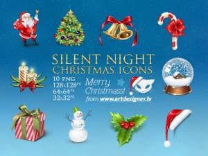 Christmas Icons Template
