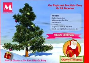 Christmas Tree Invitation Template