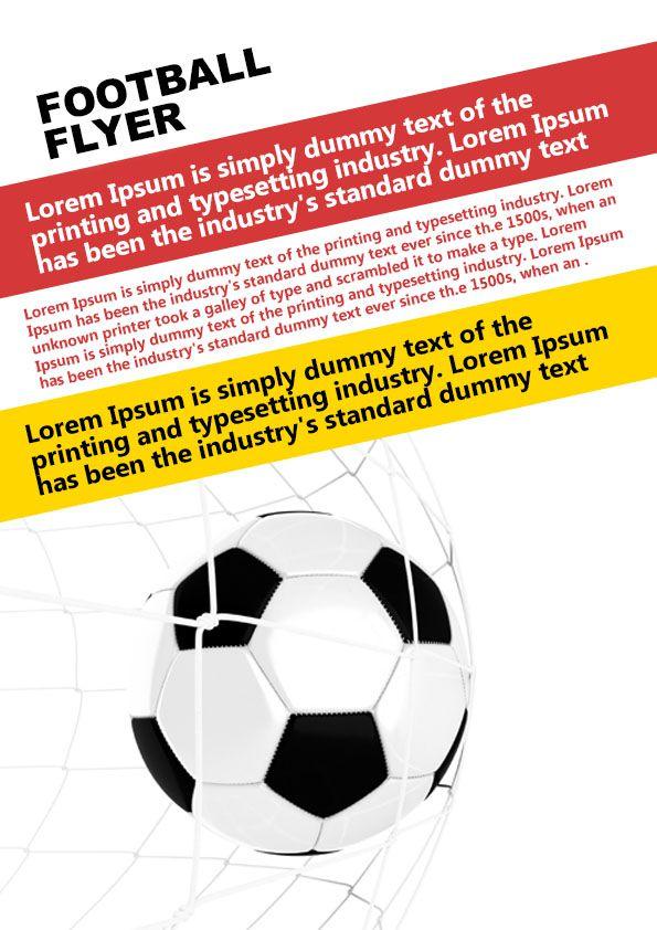 free football templates