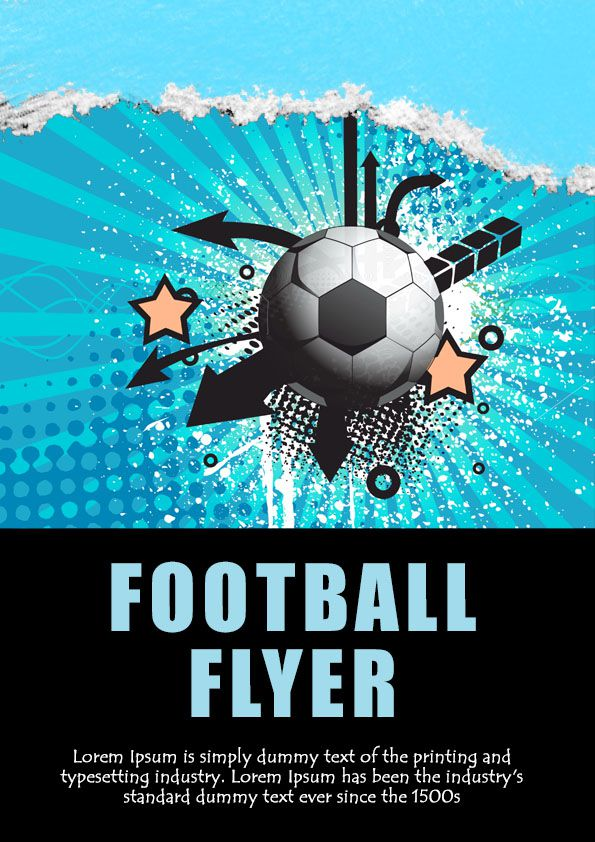 13 Free Football Flyer Templates To Spice Up Your Football Game