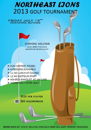 15 free golf tournament flyer templates fundraiser for Golf brochure template