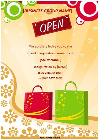 Grand Opening Flyer Templates Free Demplates - Grand opening invitation template