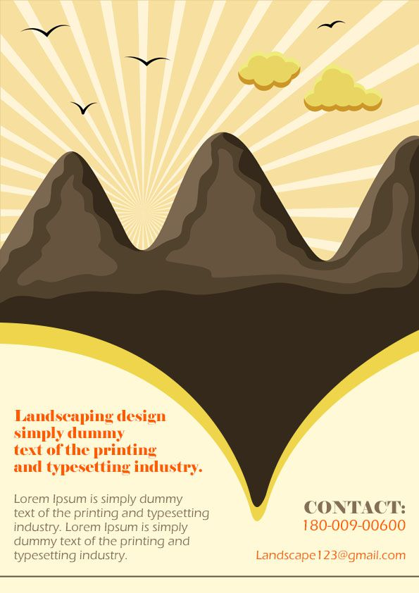 Landscaping Flyer Template 3