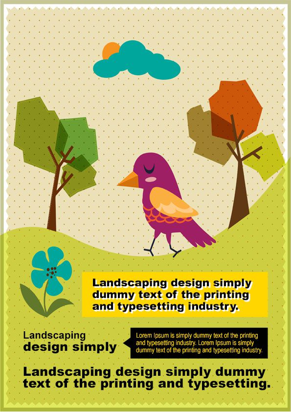 Landscaping Flyer Template 4