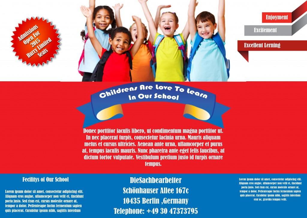 School Poster (PSD)