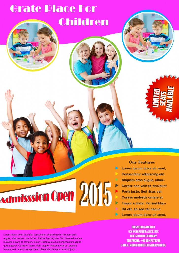 School Flyer Template 2