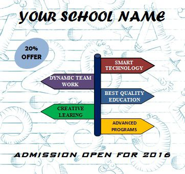 School flyer templates for microsoft word