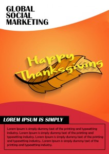 Thanksgiving Sale Flyer