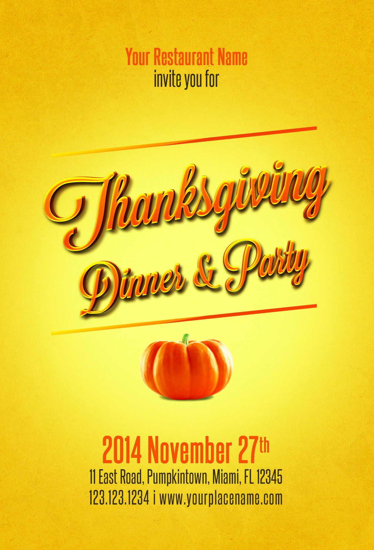 23 thanksgiving flyers psd word templates demplates thanksgiving flyer template