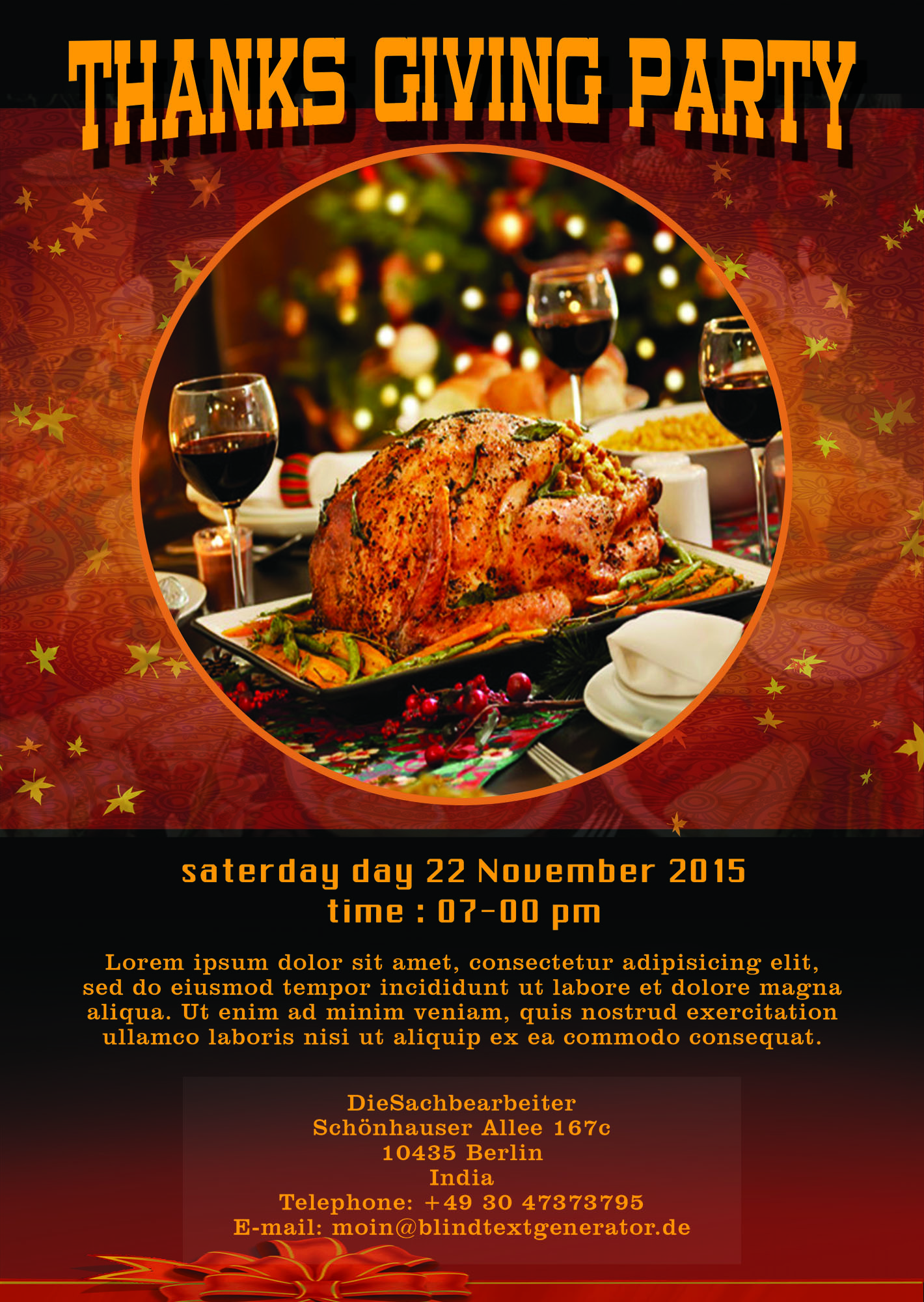 23 thanksgiving flyers psd word templates demplates thanksgiving flyer printables