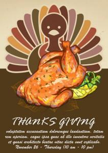 Thanksgiving Turkey Flyer
