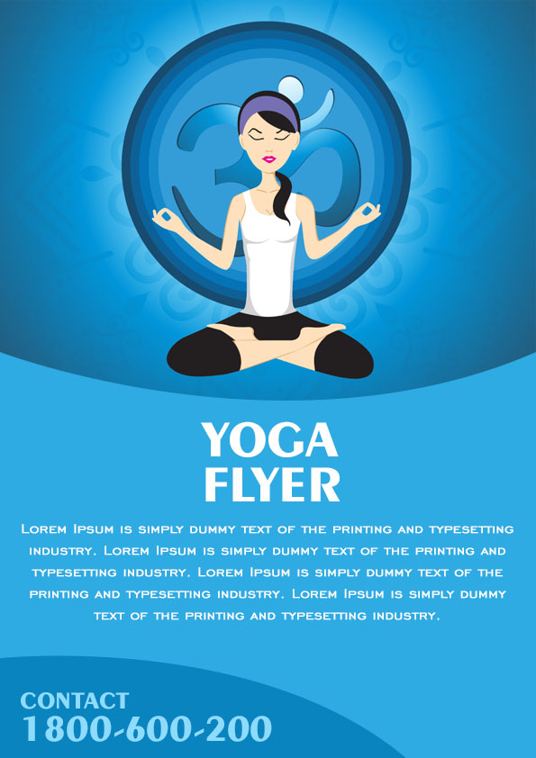 20 Distinctive Yoga Flyer Templates Free for Professionals Demplates – Yoga Flyer