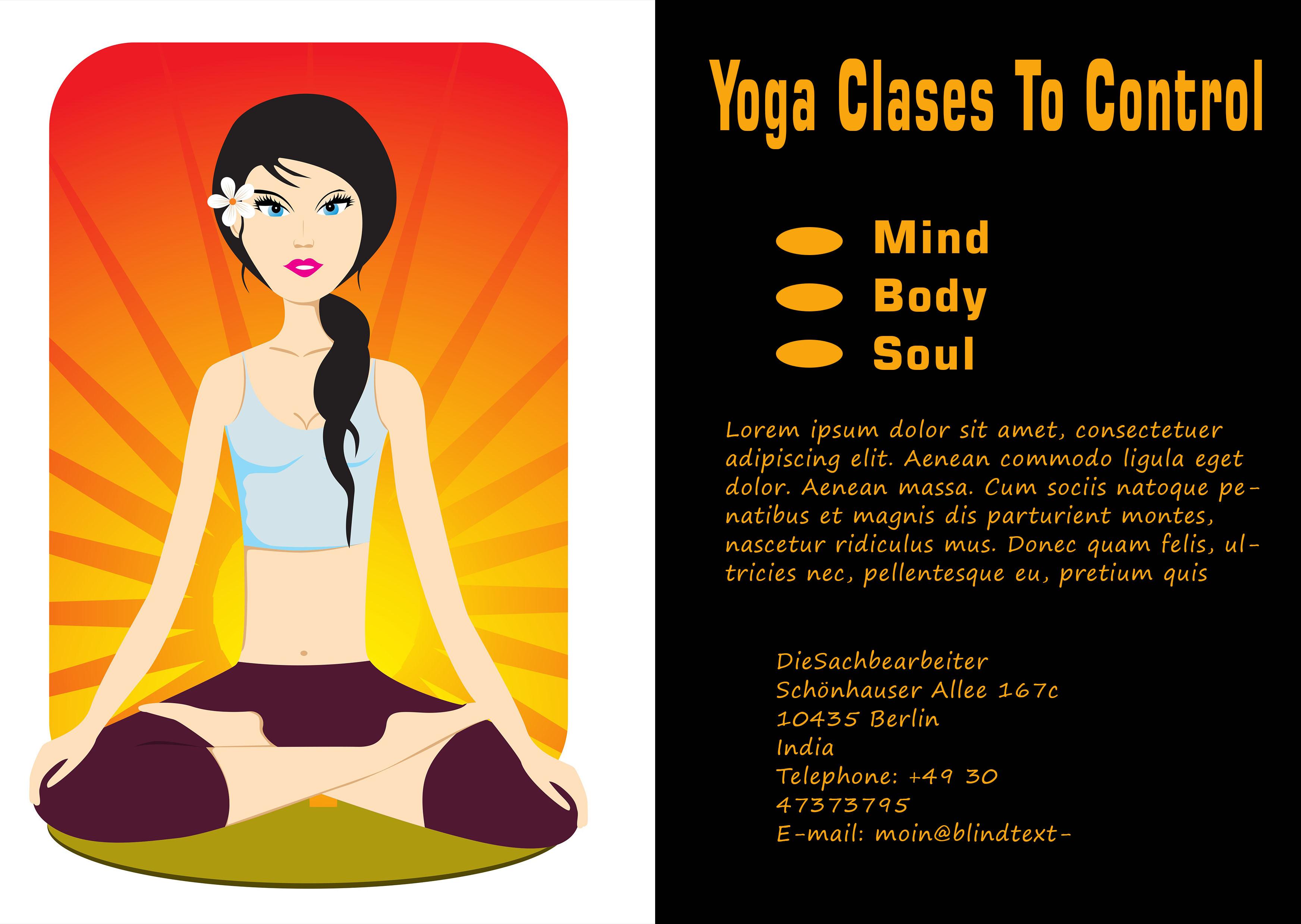 20 Distinctive Yoga Flyer Templates Free for Professionals - Demplates