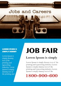 Job Fair Flyer Template Free