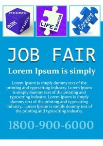 Healthcare Job Fair Flyer