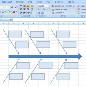 15 authorized fishbone diagram templates powerpoint excel visio creating fishbone diagram template excel 9 ccuart Image collections