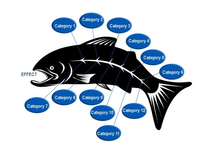fishbone diagram template 4