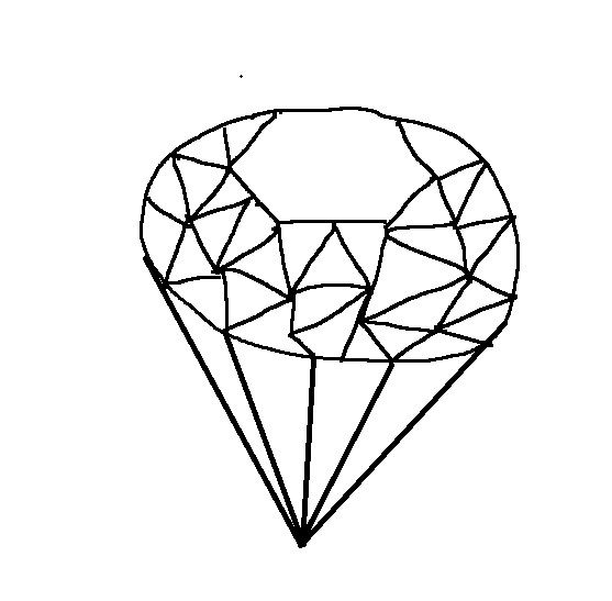 Blue Sapphire Coloring page