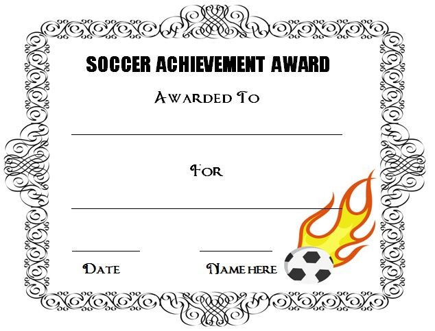 30 soccer award certificate templates free to download print soccer award certificate templates free yelopaper Choice Image