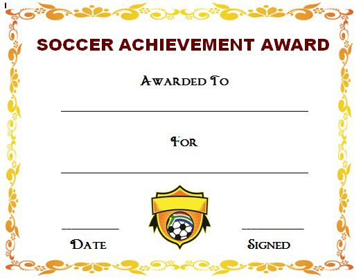30 soccer award certificate templates free to download print how to print soccer certificate templates yadclub Image collections