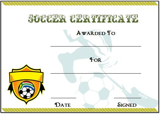 soccer certificates ideas elita aisushi co