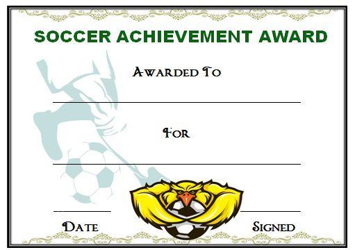 Funny Soccer Awards For Kids