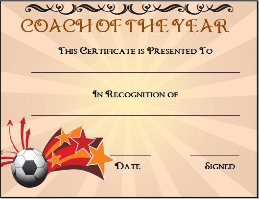 Best Soccer Award Certificate Templates Photos >> Award Certificate ...