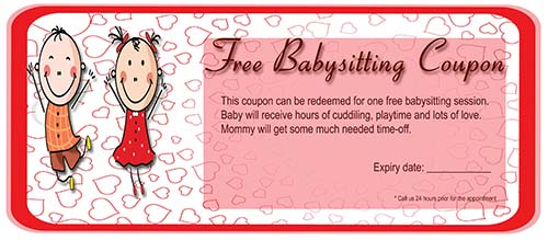 20 free babysitting coupon templates to skyrocket your child care babysitting coupon template free download maxwellsz