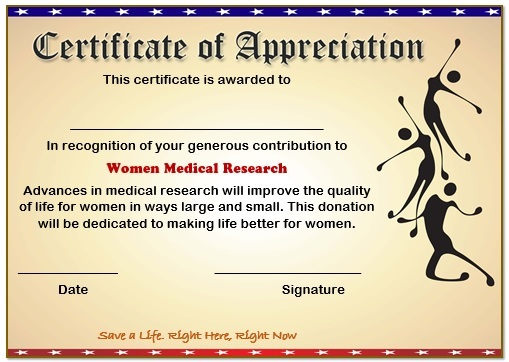 10 Elegant Certificate of Appreciation for Donation ...