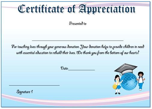 Certificate of appreciation template word pasoevolist certificate of appreciation template word yadclub Gallery