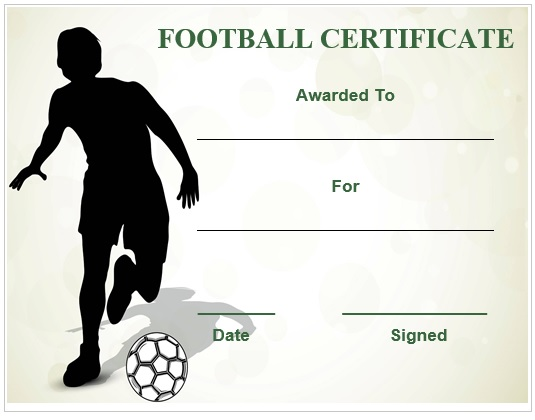 football certificate template 4 football_certificate_template_4