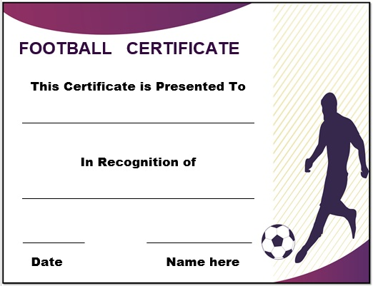 Football_certificate_template_9