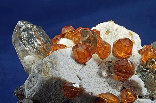 Spessartite Garnet - things that are orange