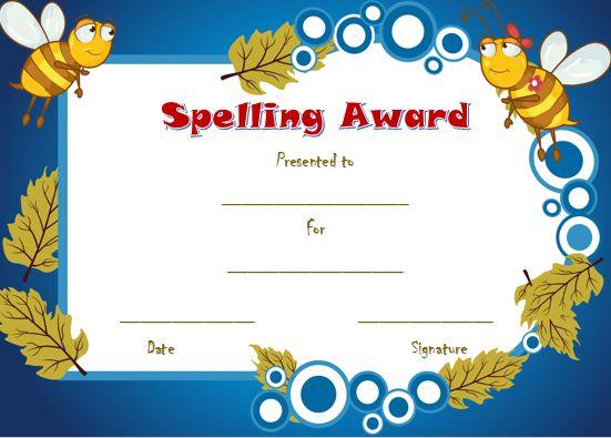 21 Free Printable Spelling Bee Certificates Participation Winner – Winner Certificate Template