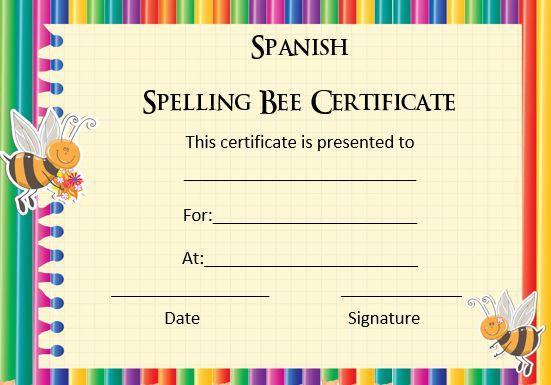 spanish_spelling_bee_certificates