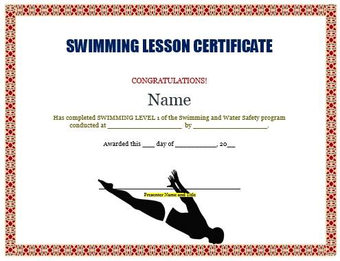 congratulations certificate word template