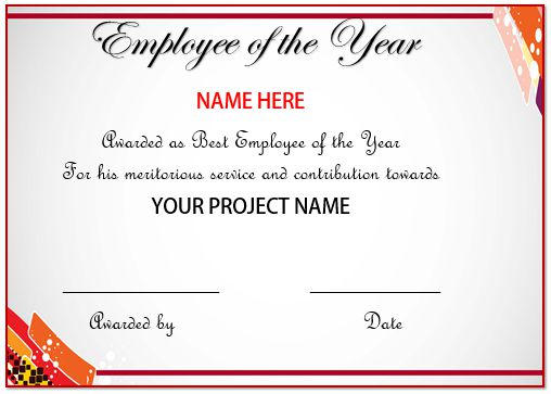 best employee of the year certificate koni polycode co