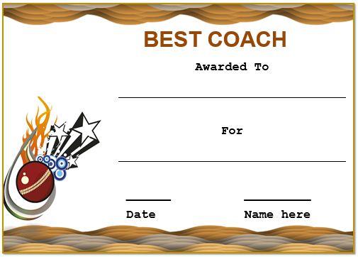 Cricket Coaching Certificate