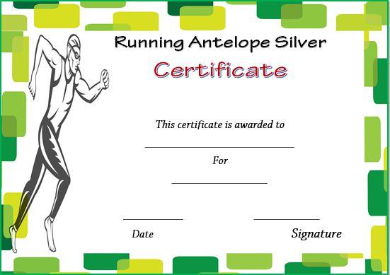 Running Antelope Silver Certificate