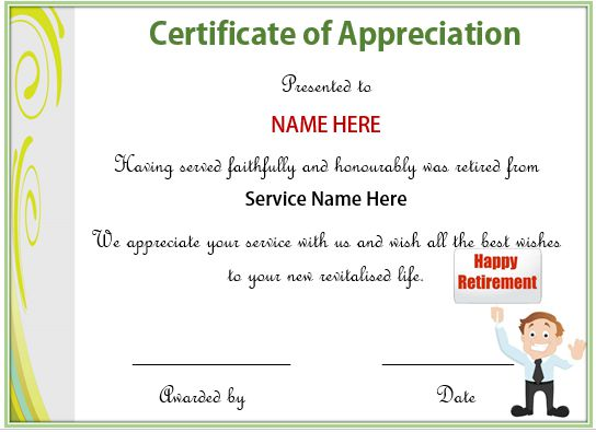 20 free certificates of appreciation for employees editable 20 free certificates of appreciation for employees editable samples formats demplates yadclub Gallery