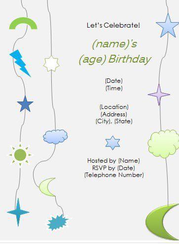 birthday template 34