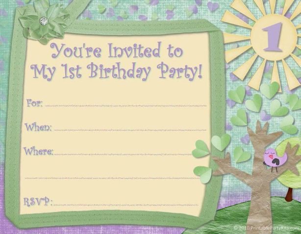 birthday invitation template 17