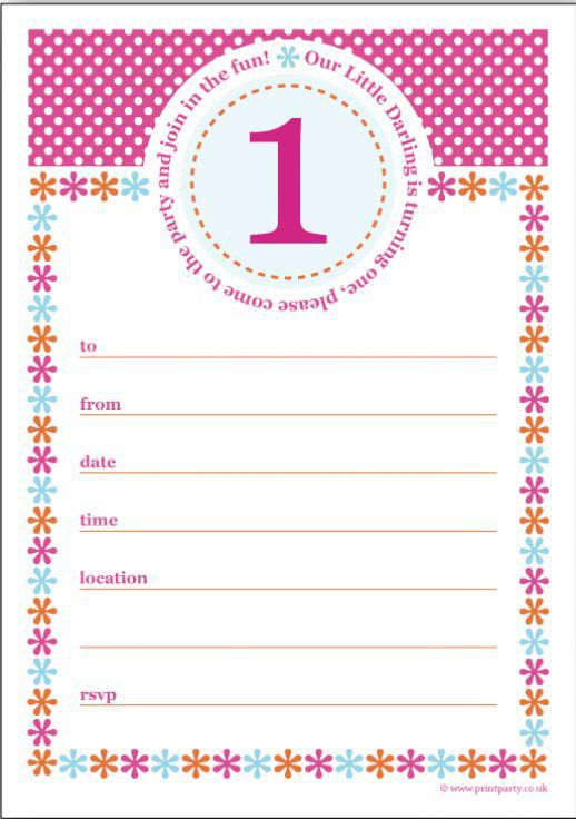 birthday invitation template 18
