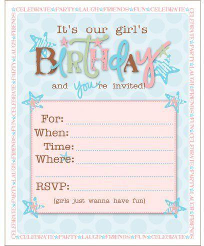birthday invitation 28