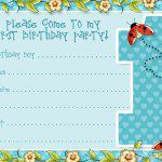 birthday invitation template 20