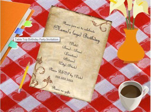 birthday template 32