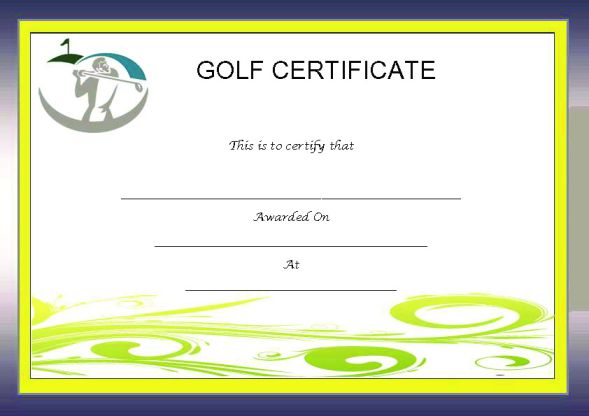 Adorable golf certificates for professional players free seven main components of golf achievement certificates yelopaper Choice Image