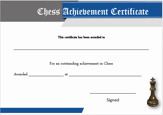 23 free printable chess certificates you can use for chess 23 free printable chess certificates you can use for chess competitions yelopaper Images