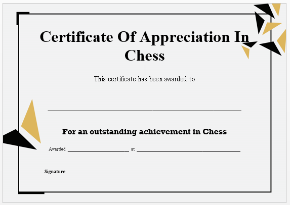23 free printable chess certificates you can use for chess 23 free printable chess certificates you can use for chess competitions demplates yelopaper Images