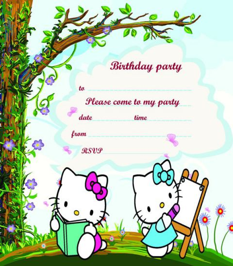 100 free birthday invitation templates you will love these demplates stopboris Gallery